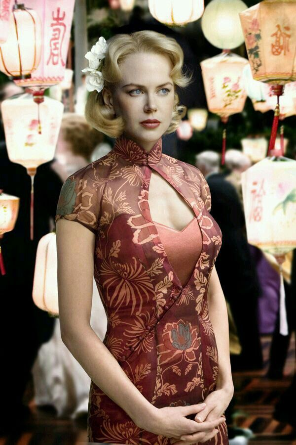 red dress /Nicole Kidman