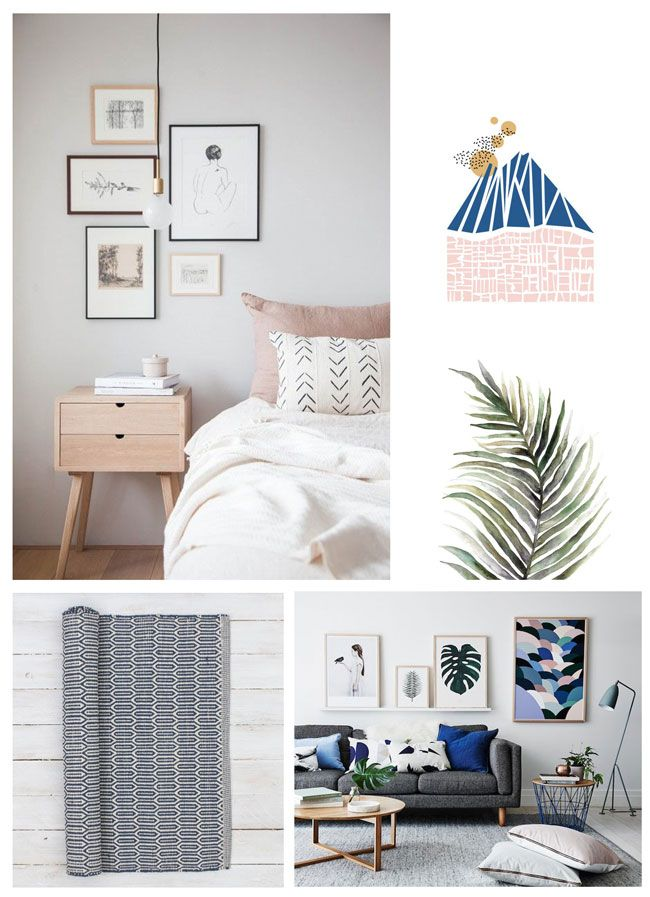 Geometrics RULE! Skandihome's blog post all about the lines and clean edges vital to Scandinavian interior design!