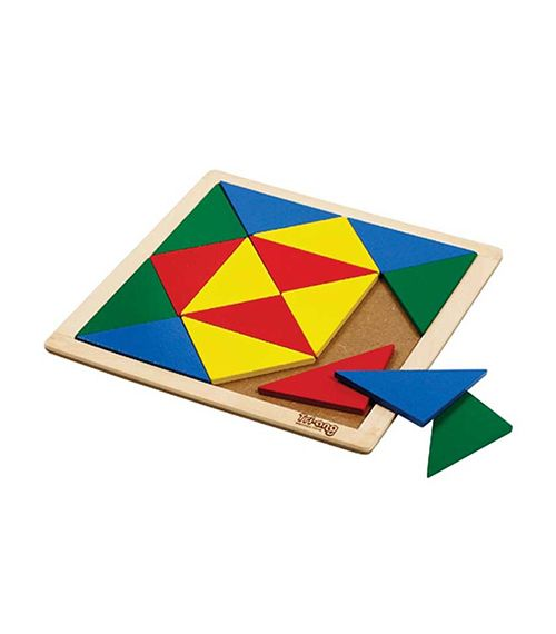 Mosaic – Triangles-Isosceles From TRIANG from The Wooden Toybox