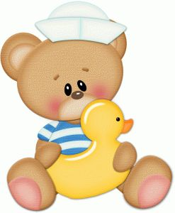 View Design #59747: sailor bear w rubber ducky pnc