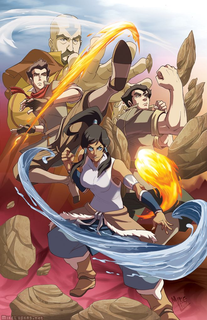 Avatar the Last Airbender & Legend of Korra: The Legend of Korra Art/Fan Art