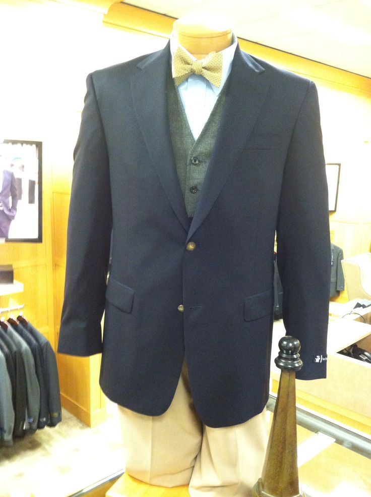 Hart Schaffner and Marx American blazer combination by Tony Arnold