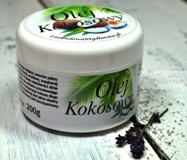 Olej #kokosowy - wyjątkowa pielęgnacja Twojej skóry.