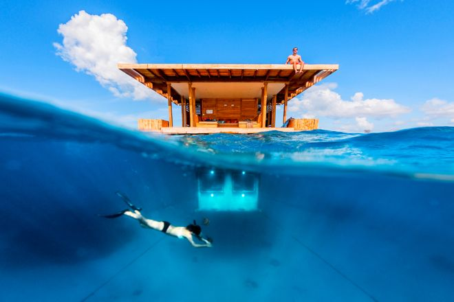 There's something for everyone to do in your own private underwater hotel room. Find out more at our website http://www.suitcasesandstrollers.com/articles/view/underwater-hotels?l=all #GoogleUs #suitcasesandstrollers #travel #kids #fish #underwater #hotel #travelwithkids #familytravel #familyholidays #familyvacations