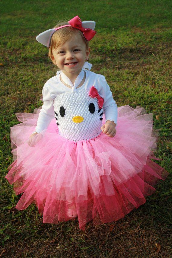 katie schmeltzer norgord borders kitty costume dressup birthday tutu dress by cupcakeskisses 5600 hello kitty halloween - Halloween Hello Kitty Costume