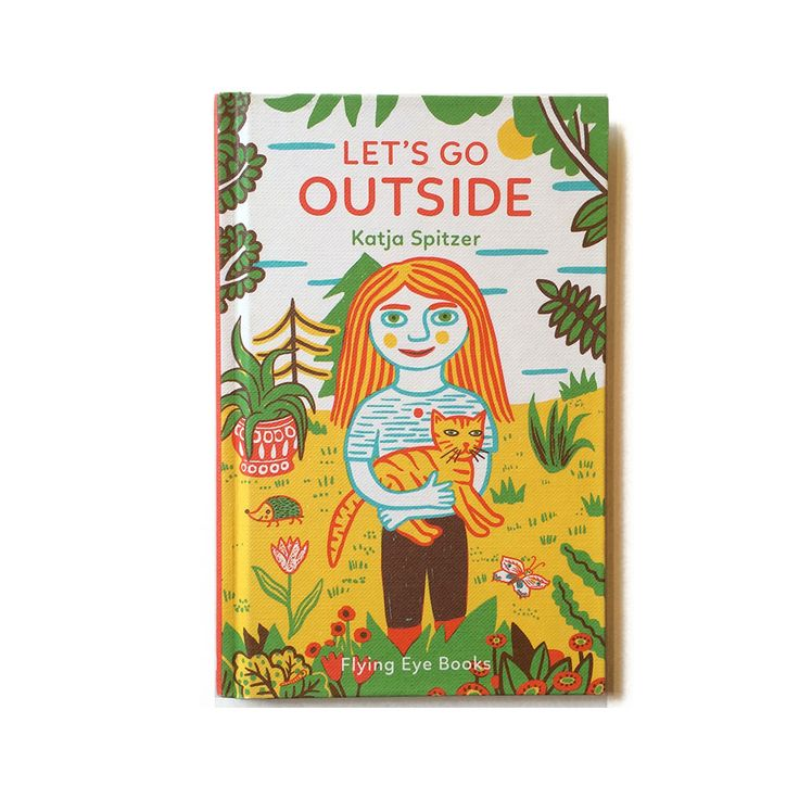 Nobrow Press Let's Go Outside: Perfect for small hands, this mini-hardback book is a gentle introduction to learning words from the garden. Katja Spitzer's vibrant illustrations in Let's Go Outside encourage young children to learn about and venture into the great outdoors!  Katja Spitzer was born in a small town in Sachsen-Anhal and studied art history and historical studies before going on to study illustration at the Hochschule für Grafik und Buchkunst Leipzig under the guidance of Volker…