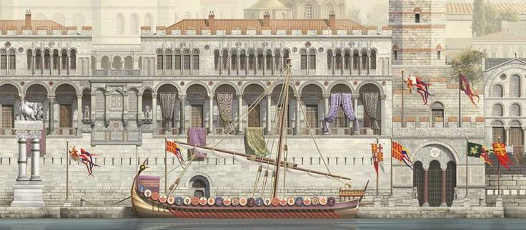 Gorgeous Images Reconstruct Constantinople From 4th To 13th Century VI