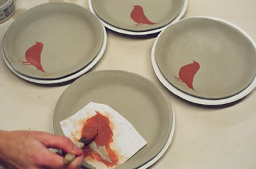 Tutorial For Making Ceramic Plate Sets Photo Of Amanda
