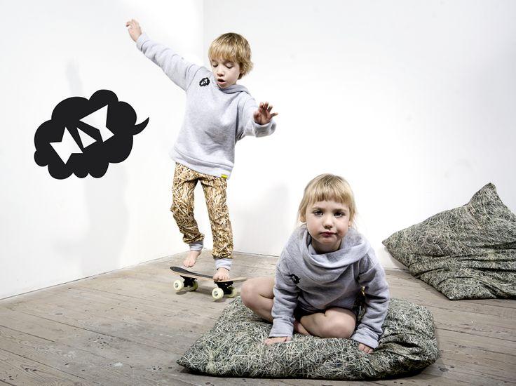 HAY fashion for kids by Dizeno Creative / photo: Piotr Miazga Photography / model: Antek & Tosia / www.hayka.eu