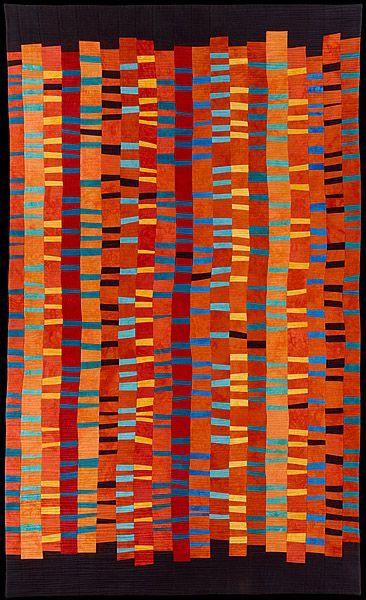 Markers 2 by Barbara Nepom | art quilt