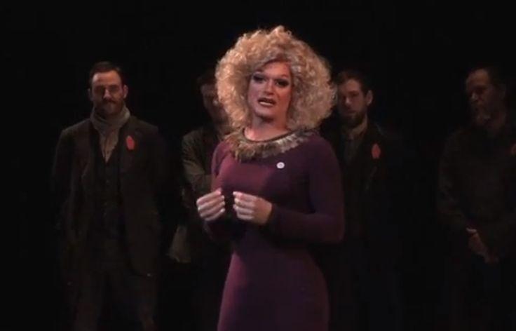 Watch An Irish Drag Queen's Powerful Speech About Homophobia