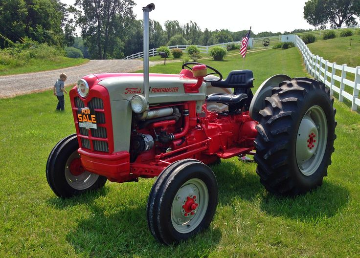 801 Ford Tractor : Ford powermaster things i love pinterest