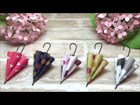 (Origami) Cute! How to make an umbrella 【DIY € …