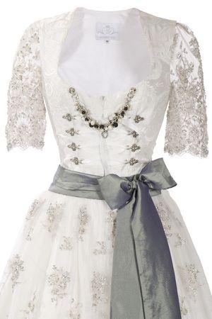 Beautiful wedding/bride dirndl