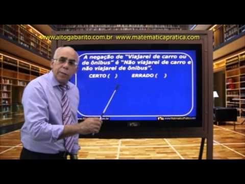 Semana de Raciocínio Lógico - Vídeo Aula Dica de Nº 3