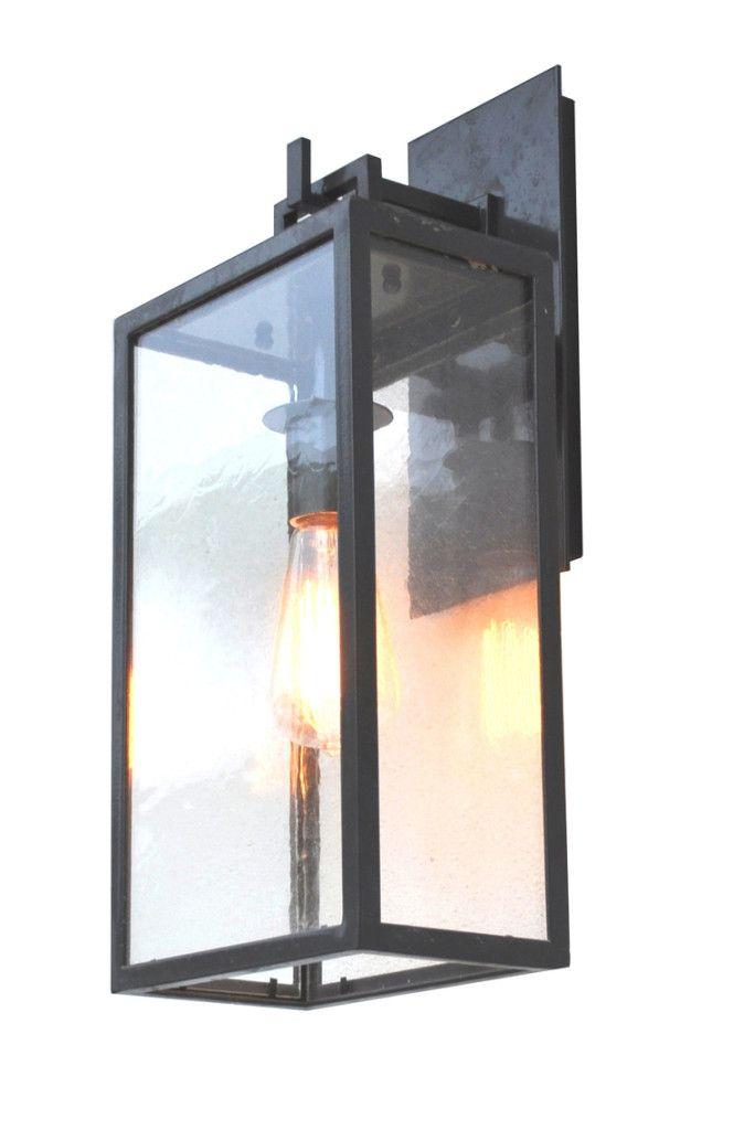 297 Mb1 Ir W Ba Barstock Iron Light Modern Lantern Or Transitional #adglighting