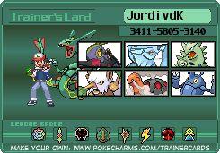 Trainer Card Maker | Pokécharms
