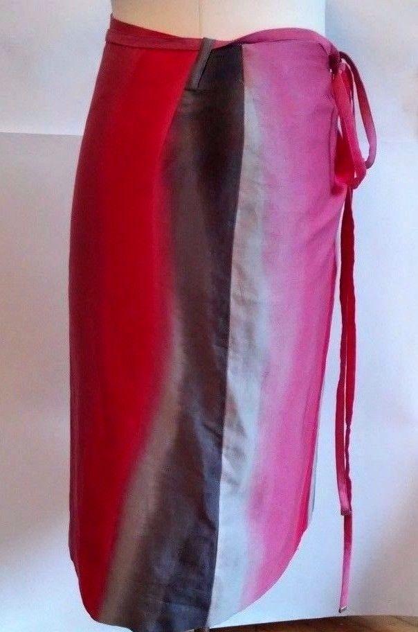 ESCADA SPORT Womens  pink gray cotton   Skirt 40 us 6 #ESCADASPORT #StraightPencil