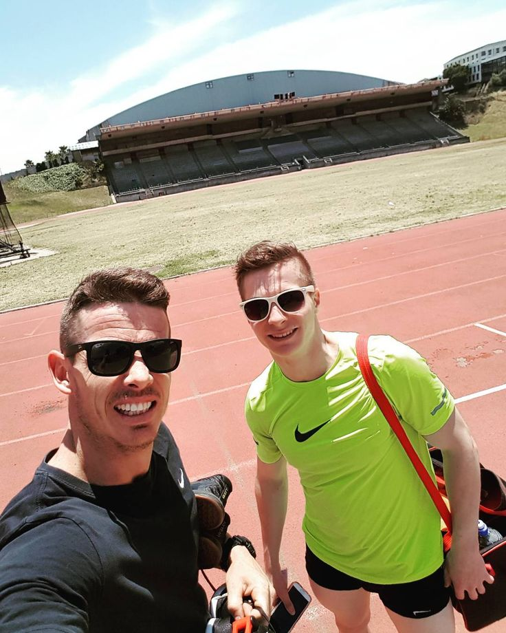 Aerobic Capacity Cert this weekend so I needed to test 400m and 1 Mile run times. Note to self..dont go to a track testing 400's with a WP 400m hurdles athlete  thanks @lateganlouis for all the pointers..really made a difference! #aerobic #weightloss #coaching #mechanics #hardwork #strength #BG18 #snatch #rowing #running #paleo #eatclean #nutrition #crossfit #sweat #fitfam  #LukewarmIsNoGood #AllNikeEverything #crossfit #weightlifting #squats #sweat #instafit #fit #fitfam #strong #brave…