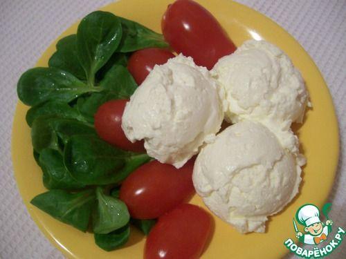 Сливочная рикотта домашняя - кулинарный рецепт