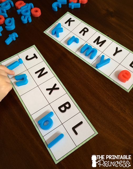 LOVE this for letter practice. Could be used several different ways. Match uppercase to uppercase or uppercase to lowercase.