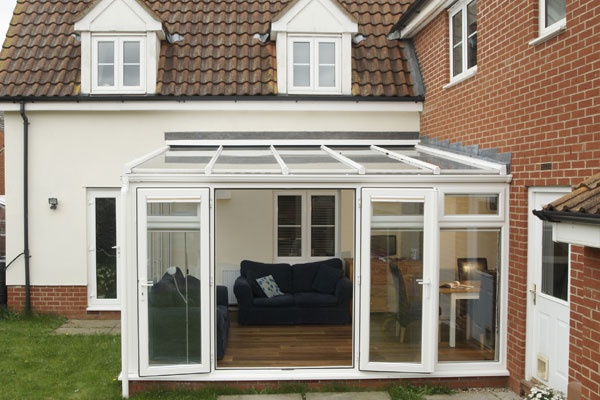 Anglian conservatory reviews save on best conservatories for Lean to garden room