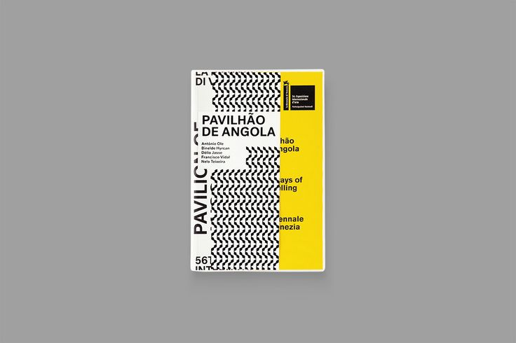 "다음 @Behance 프로젝트 확인: ""Pavilion of Angola / 56th Venice Biennale / Catalogue"" https://www.behance.net/gallery/40691669/Pavilion-of-Angola-56th-Venice-Biennale-Catalogue"