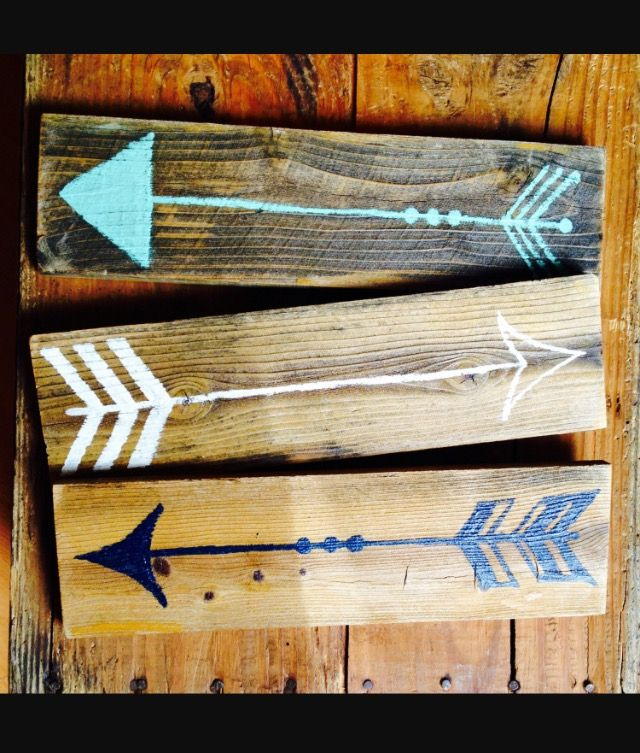 Wooden Arrows