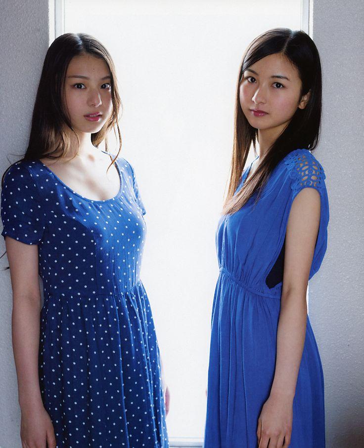 luckynumber48-magz:  Sasaki Kotoko & Sagara Iori @ 【UTB+ 2015 Vol.23】