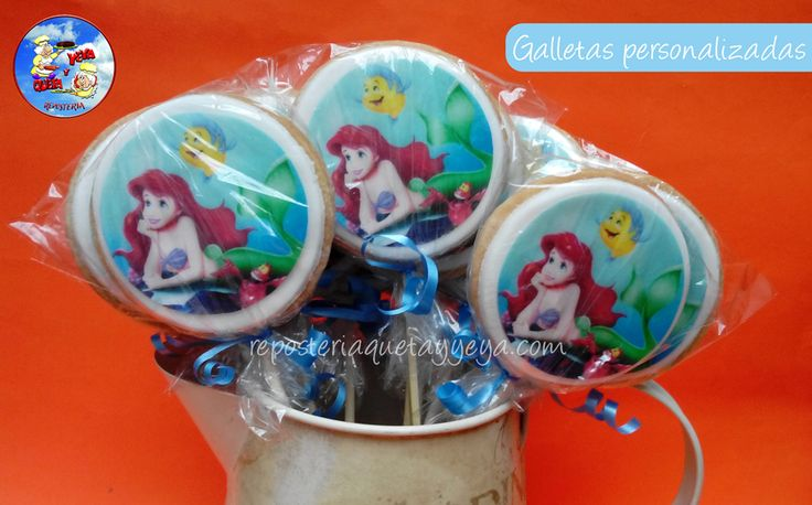 Galleta Sirenita - Little mermaid Cookies