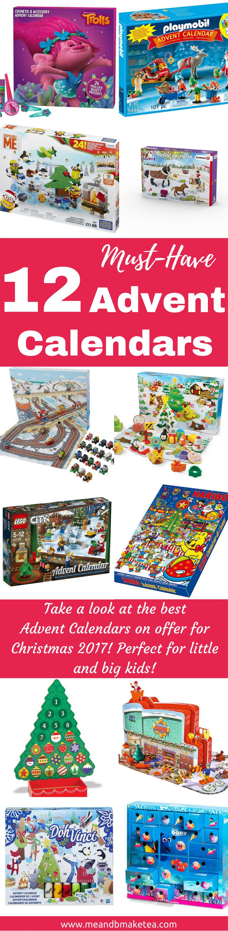 the best advent calendars for kids 2017 round up christmas! Today on the blog I'm looking atAdvent Calendars. I know it's early but come on, I need to get my bum in gear and get organized. To help you too, I've rounded up some of my favourite ones for kids. This post does contain affiliate links, which basically means I get a small commission if you buy said calendar through the links below. Don't let that put you off though, there really are some fun calendars here!