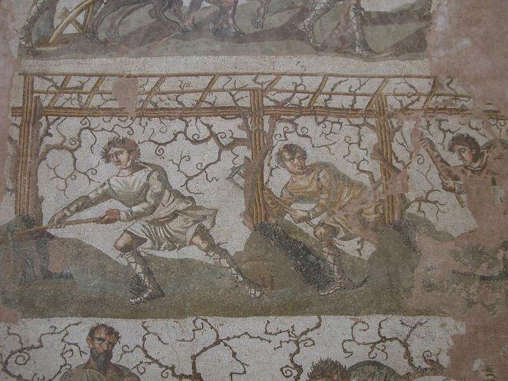 Les 25 meilleures id es de la cat gorie mosaique romaine - Cuisine romaine antique ...