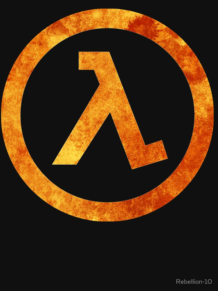 The symbol of the infamous lambda lab of the game series of half-life.
