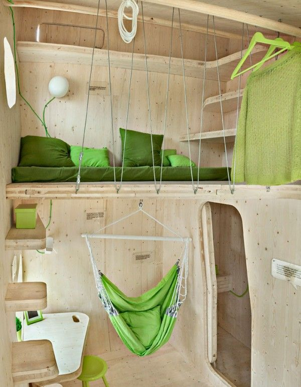 Eco-friendly Smart student units Tiny House idea+sgn by Tengbom for AF Bostäder 6
