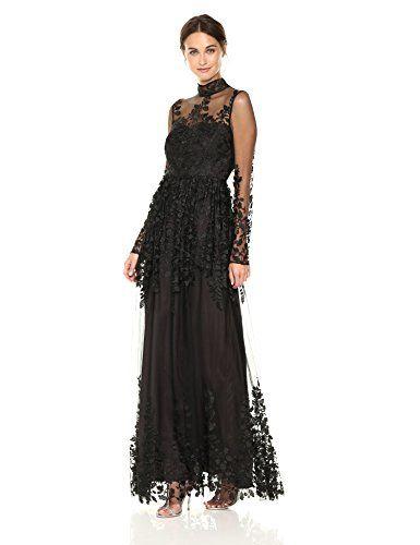 ML Monique Lhuillier Women's Long Sleeve Illusion Embroid... Dresses Online - Elegant dresses and affordable dresses. Buy online dresses only from the  best online boutiques.