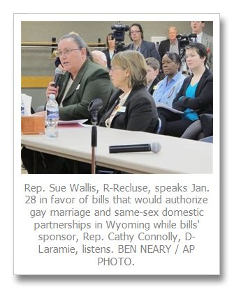 Wyoming lawmakers see movement on gay issues more than 14 years after Matthew Shepard's death