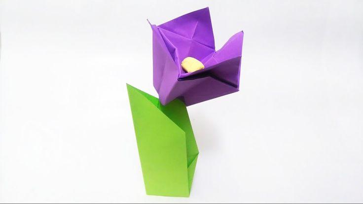 How to make: Origami Crocus Flower