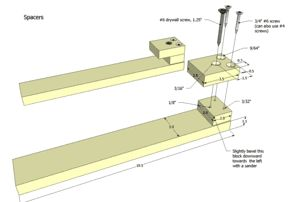 Table saw dovetail jig plans preview
