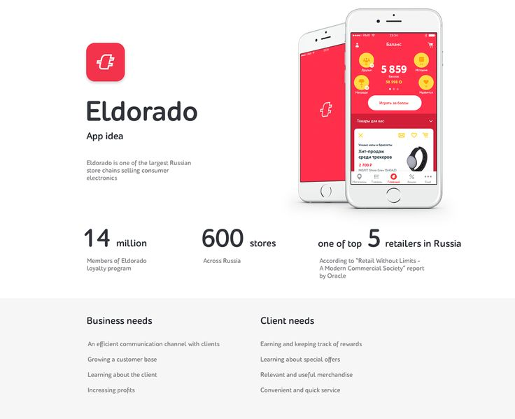 Eldorado APP on Behance