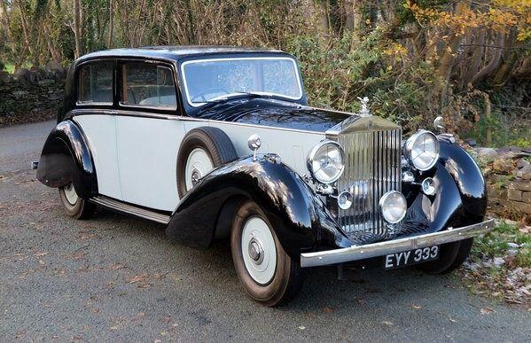 A 1937 Rolls Royce Phantom Iii Sunroof Saloon By H J Mulliner A