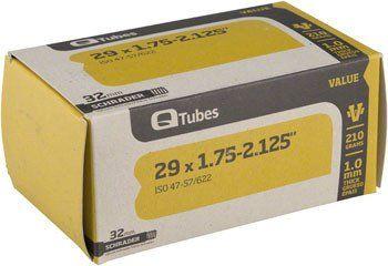 "Q-Tubes Value Series Tube with Schrader Valve: 29"" x 1.75-2.125"""