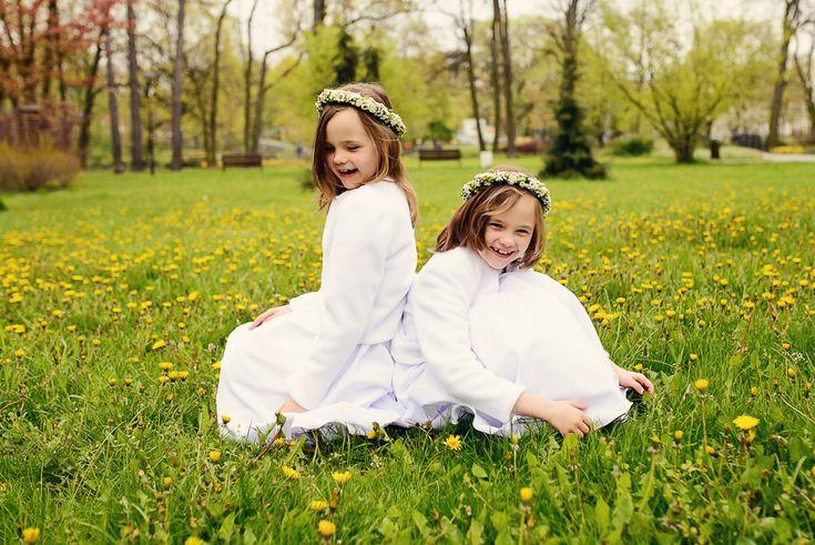Pierwsza Komunia sesja Niny i Leny - http://www.anielskiefoto.pl/pierwsza-komunia-sesja-niny-leny/