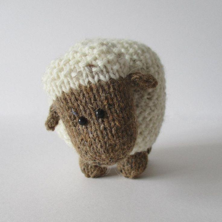 Moss the Sheep Knitting pattern by Amanda Berry | Knitting Patterns | LoveKnitting
