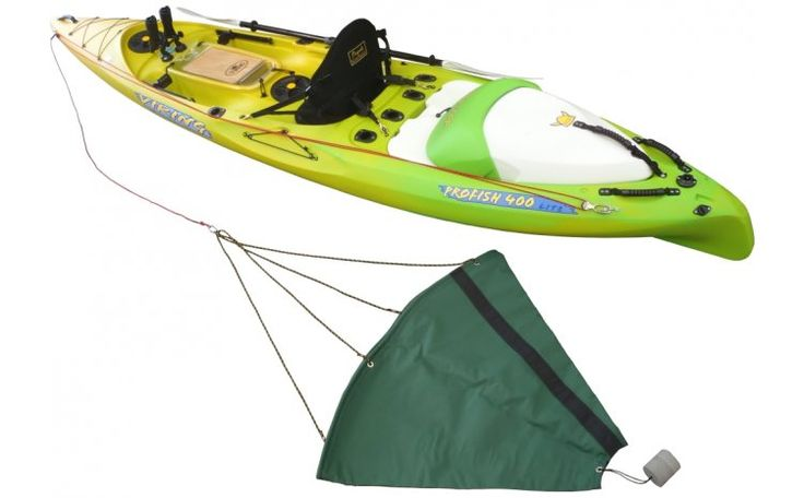 Stephen Tapp designed the first commercially available drogues (drift chutes) in NZ enhanced particularly for kayak performance, based on a lot of on-water experimentation. The ones sold through Viking Kayaks are based on Stephen's original design work. Keep in mind there are a variety of designs that will work OK, but here are the key features Stephen found that made a real difference to performance: