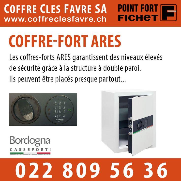 Coffre fort ARES  Les coffres-forts ARES garantissent des niveaux élevés de sécurité grâce à la structure à double paroi. #pointfortfichet #geneve #coffrecles