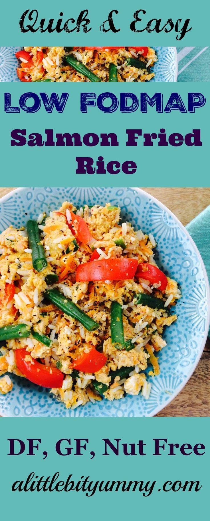 Easy Salmon Fried Rice