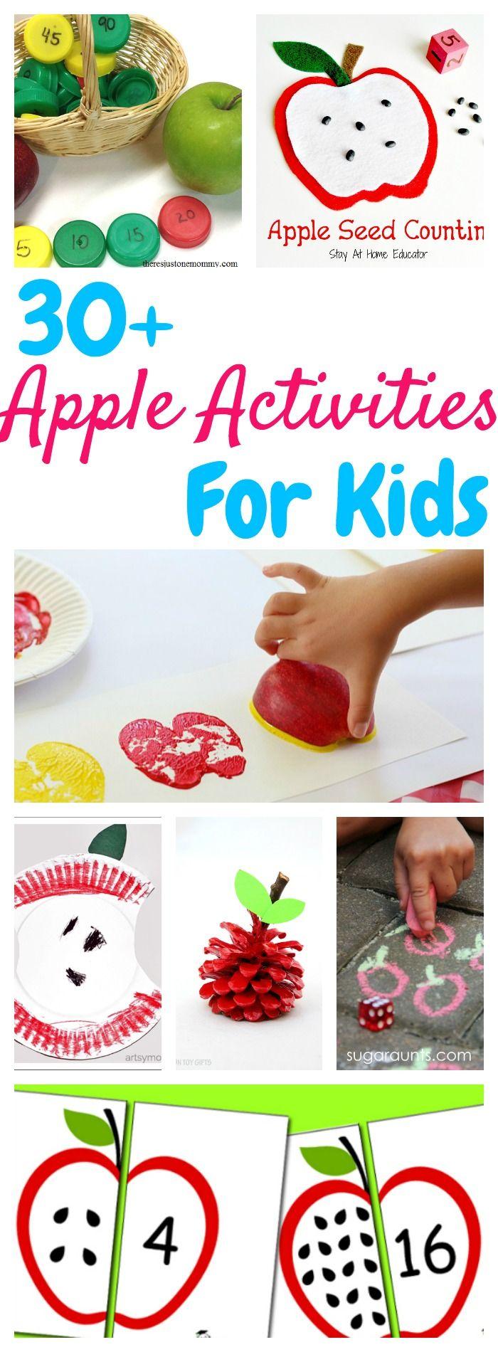 Over 30 Fun Apple Activities for Kids