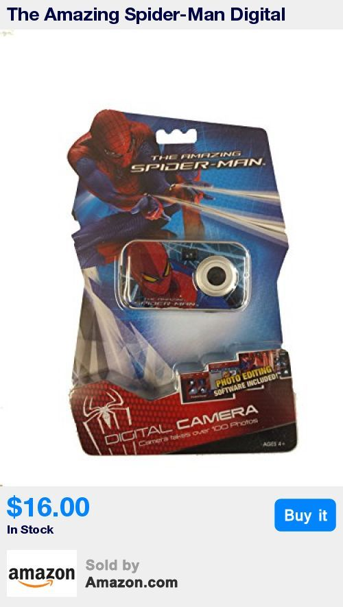 Spider-Man Digital Camera and Keychain * Photo Editing Software