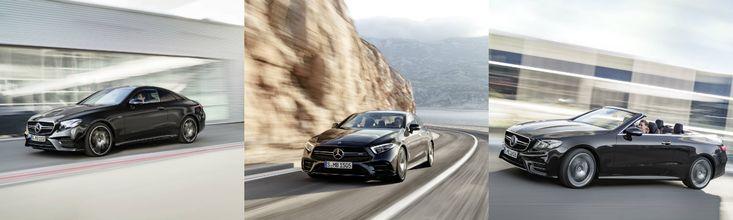 Säg hej och välkommen till splitter nya Mercedes-AMG 53-serien: CLS, E-Klass Coupé och E-Klass Cabriolet! Är du lika nyfiken som vi?