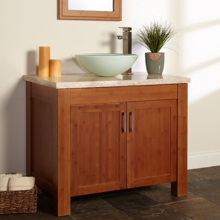 bamboo vanity bathroom. 36\ Bamboo Vanity Bathroom